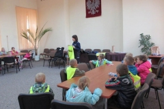 Wycieczka do KPP w Mławie